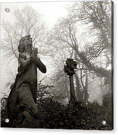 Statue Acrylic Print by Robert Dalton