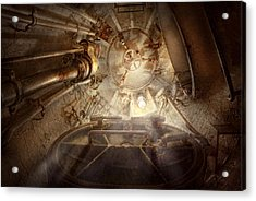Steampunk - Naval - The Escape Hatch Acrylic Print by Mike Savad
