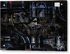 Steampunk Patent 1215 Prototype B Acrylic Print by Wingsdomain Art and Photography