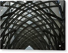 Steel Acrylic Print by Joseph Yarbrough