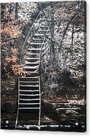 Steps  Acrylic Print by Jon Baldwin  Art