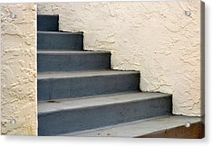 Steps Acrylic Print by Rima Biswas