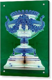 Sterling Urn Acrylic Print by Randall Weidner
