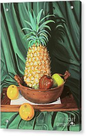 Still Life 1 Acrylic Print by Jim Barber Hove