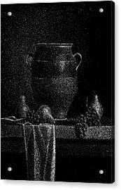 Still Life Acrylic Print by Norbert Varga