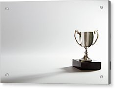 Still Life Of A Trophy Acrylic Print by Quiet Noise Creative