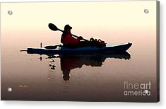 Still Waters Acrylic Print by Dale   Ford