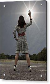 Stop The Sun Acrylic Print by Joana Kruse