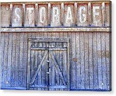 Storage - Architectural Photography Acrylic Print by Karyn Robinson