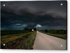 Storm Ahead Acrylic Print by Rick Rauzi