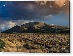 Storm Clearing Over Great Basin Acrylic Print by Greg Nyquist