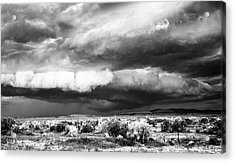 Storm Clouds Acrylic Print by Greg Jones