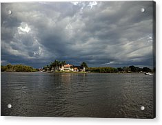 Storm On The Gordon River Acrylic Print by Ken  Collette