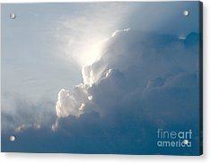 Storms Over Acrylic Print by Robert Pearson