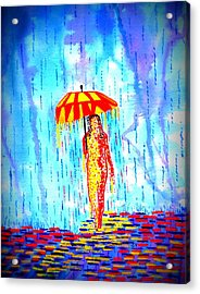 Stormy Mood 2 Acrylic Print by Connie Valasco