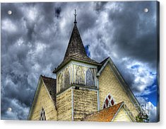 Stormy Times Acrylic Print by Bob Christopher