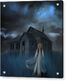 Strange Dream Acrylic Print by Hazel Billingsley