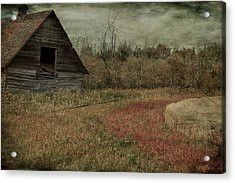 Strawberry Lane  Acrylic Print by JC Photography and Art