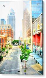 Street's Of Louisville Acrylic Print by Darren Fisher