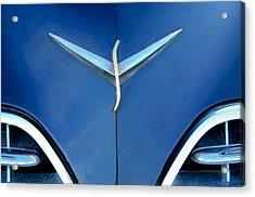 Studebaker Hood Emblem Acrylic Print by Jill Reger