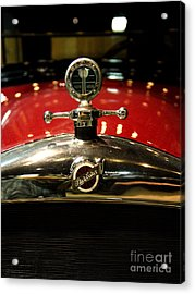 Studebaker Hood Ornament Acrylic Print by Wingsdomain Art and Photography