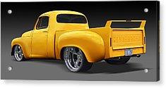 Studebaker Truck Acrylic Print by Mike McGlothlen