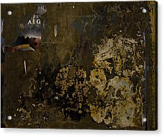 Subtext   Aig Acrylic Print by Kenneth rst Vick