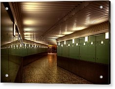 Subway Path Acrylic Print by Svetlana Sewell
