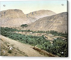 Suk-wady-barada, Holy Land, Jordan Acrylic Print by Everett