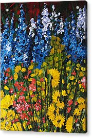 Summer Colours Acrylic Print by Shilpi Singh