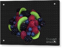 Summer Fruit Medley Acrylic Print by Michael Waters