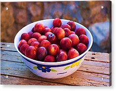 Summer Fruits Acrylic Print by Manolis Tsantakis