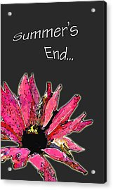 Summer's End Acrylic Print by Larry Bishop