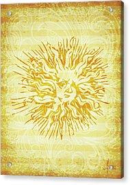 sun Acrylic Print by Adrienne Stiles