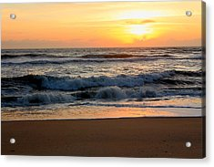 Sunburst Acrylic Print by Laurinda Bowling