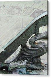 Sundial Acrylic Print by Mark Holbrook