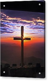 Sunrise At Pretty Place Acrylic Print by Rob Travis