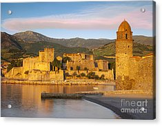 Sunrise In Collioure Acrylic Print by Brian Jannsen