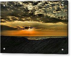 Sunrise Over Assateague II Acrylic Print by Steven Ainsworth