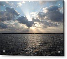 Sunrise Over Keaton Beach Acrylic Print by Marilyn Holkham