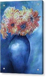 Sunrise Acrylic Print by Patsy Sharpe