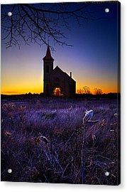 Sunrise Service Acrylic Print by Phil Koch