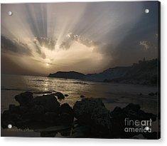 Sunset Acrylic Print by Betta Artusi