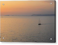 Sunset Cruise Acrylic Print by