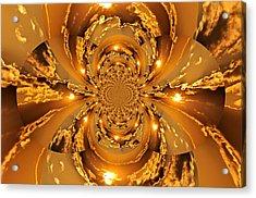 Sunset Kaleidoscope 4 Acrylic Print by Marty Koch