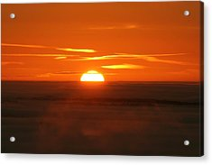 Sunset Acrylic Print by Laurent Laveder