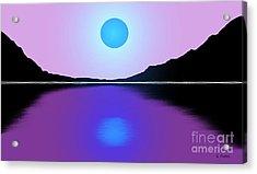 Sunset No. 4 Acrylic Print by George Pedro