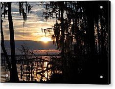 Sunset View Acrylic Print by Tiffney Heaning