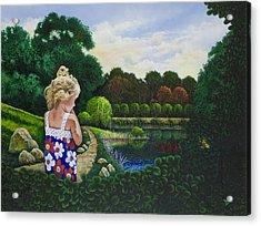 Sunshine Travelers Acrylic Print by Michael Frank
