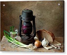 Supper Acrylic Print by Nailia Schwarz